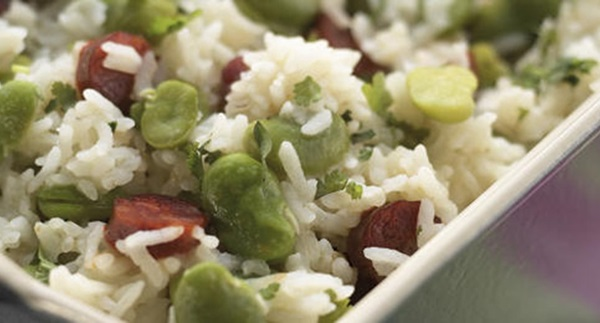 recipe image Arroz de Favas