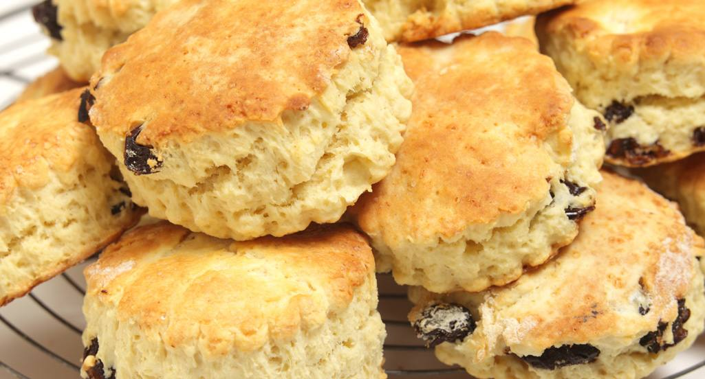 recipe image Scones com pepitas de chocolate