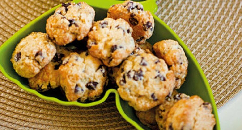 recipe image Cookies com pepitas