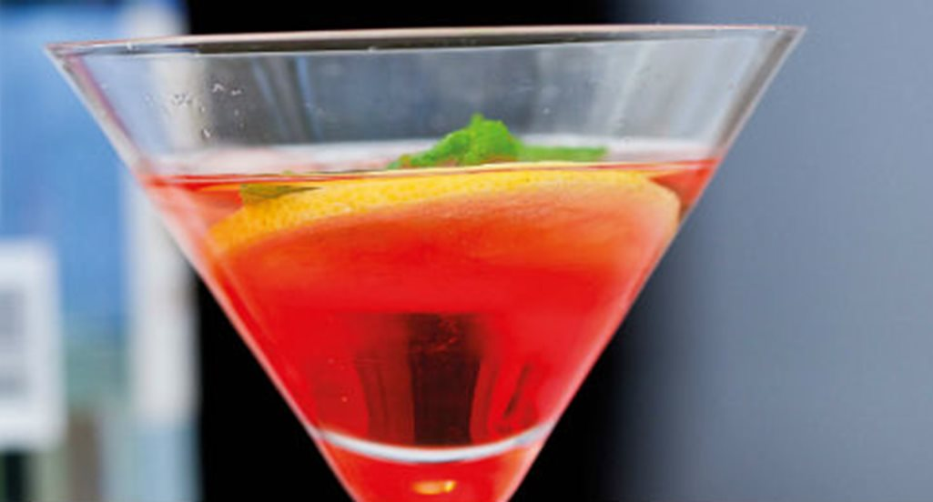 recipe image Cocktail de vinho verde e Campari